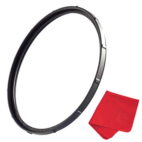 95mm X1 UV Filter for Camera Lenses - Ultraviolet Protection Photography Filter with Lens Cloth - MRC4, Ultra-Slim, 25 Year Support, Weather-Sealed by Breakthrough Photography