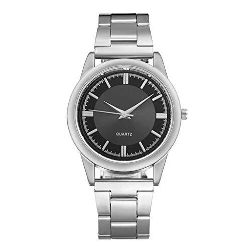 FiMi Watch Men's Fashion Waterproof Stainless Steel Quartz Watch Men's Luxury Business Dress Watch