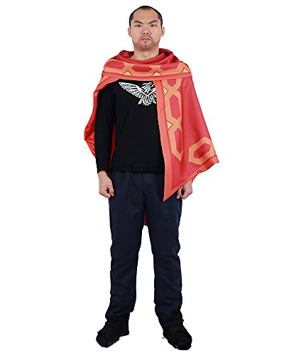 miccostumes Men's McCree Cosplay Cloak (One Size) Red