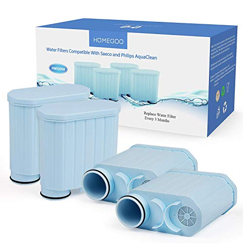 Coffee Filter Compatible with Philips AquaClean, Activated Carbon Softener Water Filter Limescale Prevention Filter Compatible with CA6903 / 10/00 / 01/22 / 47 vios filter XIEJING