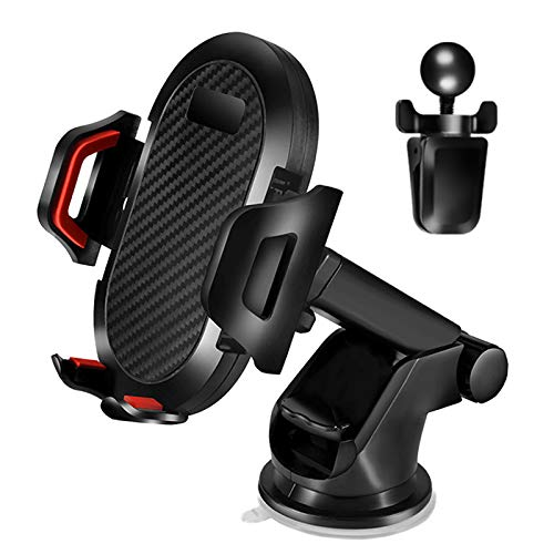 Car Phone Mount, BAVNCO Universal Long Arm Cell Phone Holder Air Vent Windshield Dashboard Car Phone Mount for iPhone 11 MAX XR X 8 7 6S Plus/ Samsung Galaxy S10 S9 S8 Plus Note 10 8 All Phones
