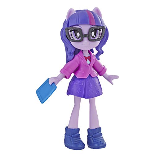 My Little Pony Equestria Girls Fashion Squad Twilight Sparkle 3' Mini Doll with Removable Outfit, Shoes & Accessory, for Girls 5+