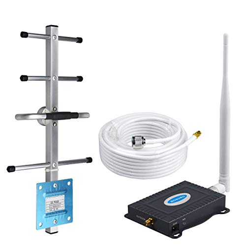 AT&T Cell Phone Signal Booster 4G LTE 5G ATT Cell Phone Booster AT&T Cell Signal Booster Band12 /17 US Cellular Cricket T-Mobile ATT Signal Booster Amplifier Repeater Cell Extender Boost Voice+Data