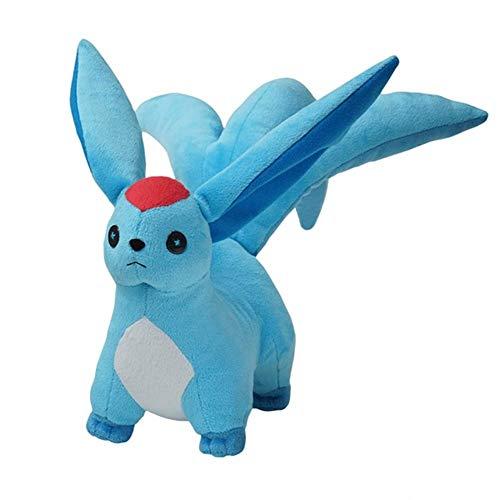 Mikucos Final Fantasy Anime Cute Plsuh Doll Toy Stuffed Animal Gift Carbuncle Minion