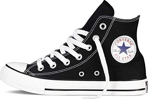 Converse Women's Chuck Taylor Hi Black/White Basketball Shoe 5 Men