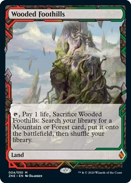 Magic: The Gathering - Wooded Foothills - Zendikar Rising Expeditions