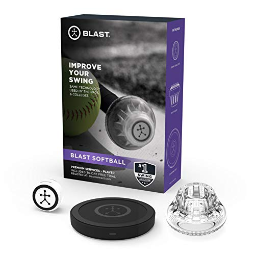 Blast Softball Swing Analyzer   Instant Feedback   Track Progress   Capture Video   3D Swing Tracer   App Enabled, iOS and Android Compatible