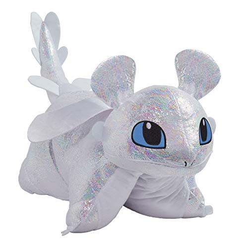 Pillow Pets Nbcuniversal How to Train Your Dragon Light Fury 16' Stuffed Animal Plush Toy