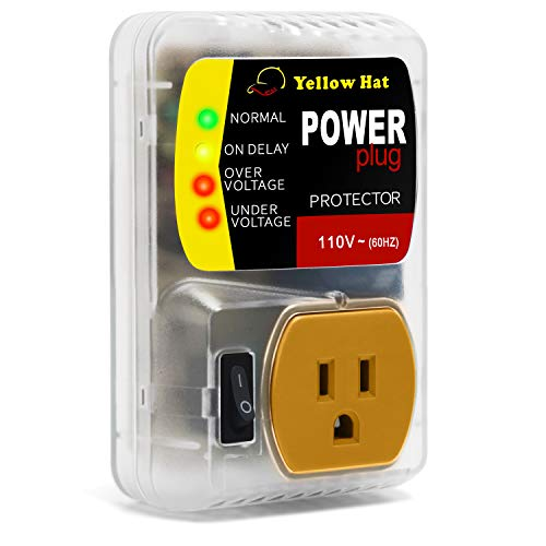 Surge Protector,Voltage Protector for Home Appliance, Voltage Brownout Outlet 110V 20A 2200 Watts