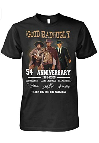 Good Bad Ugly 54th Anniversary Thank You for Memories T-Shirt Gift