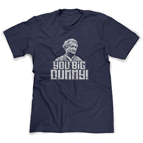 FreshRags Sanford and Son You Big Dummy Men's T-Shirt Heather Navy XL