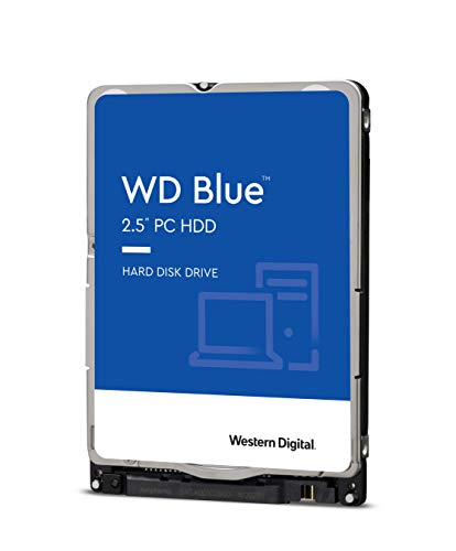 Western Digital 500 GB WD Blue Mobile Hard Drive - 5400 RPM Class, SATA 6 Gb/s, 16 MB Cache, 2.5' - WD5000LPCX