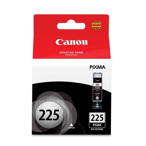 Canon PGI-225 Black Ink Tank Compatible to iP4820, MG5220, MG5120, MG8120, MG6120, MX882, iX6520, iP4920, MG5320, MG6220, MG8220, MX892, 1 Pack (PGI-225 Pigment Black) (CNMPGI225BK)