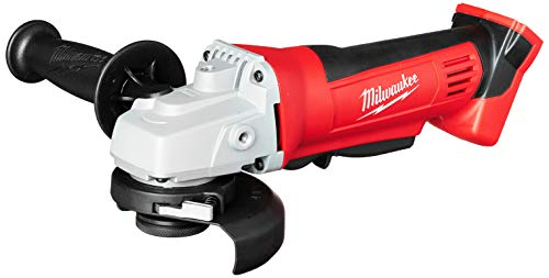 Milwaukee 2680-20 M18 18V Lithium Ion 4 1/2 Inch Cordless Grinder with Burst Resistant Guard and Paddle Switch Design