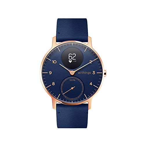 Withings Steel HR Hybrid Smartwatch - Activity, Sleep, Fitness and Heart Rate Tracker with Connected GPS