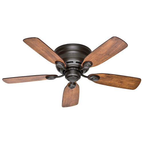 Hunter Fan Company 51061 Hunter 42' Low Profile IV Ceiling Fan, New Bronze