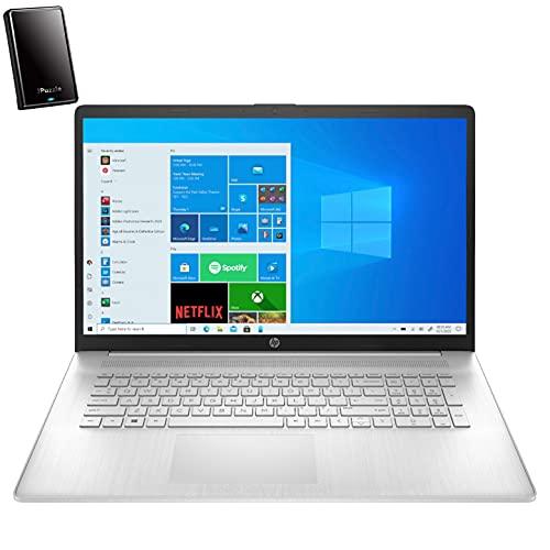2021 Newest HP 17 17.3' HD+ Laptop Computer, Intel Core i3 1115G4 up to 3.2GHz (Beat i5-8365U), 8GB DDR4 RAM, 1TB HDD, AC WiFi, Bluetooth 4.2, Webcam, Windows 10, iPuzzle 320GB External HD
