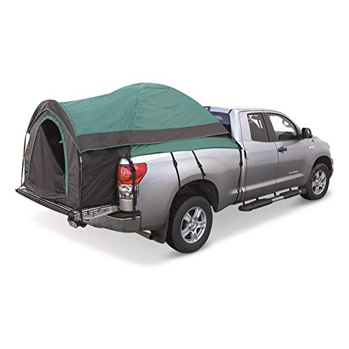 Guide Gear Full Size Truck Tent for Camping, Car Bed Camp Tents for Pickup Trucks, Fits Mattresses 79-81', Waterproof Rainfly Included, Sleeps 2