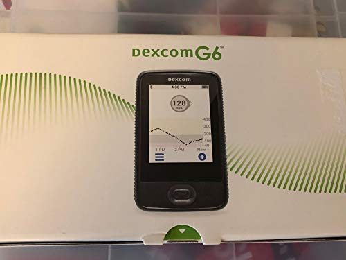 Dexcom New G6 Receiver Glucose Monitor