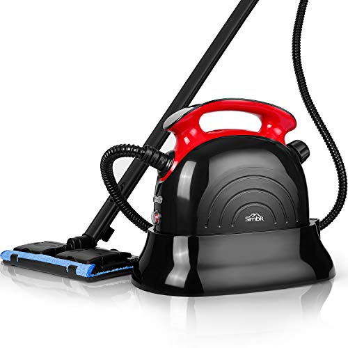 SIMBR Best Steam Cleaner, 1500W Heavy Duty Household Steamer, Multipurpose Steam Mop with 13 Accessories, Chemical-Free Cleaning for Carpet, Floors, Windows, Cars and More
