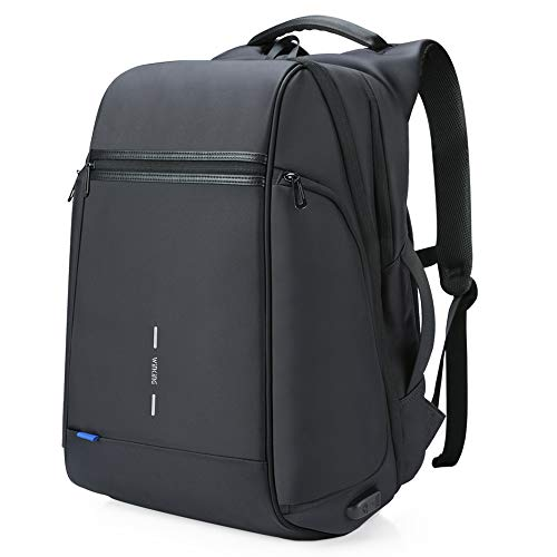 Travel Laptop Backpack for international travel,Business Anti Theft Slim Durable 15.6' USB Charging Port,Water Resistant Computer Bag