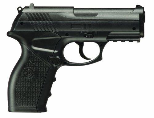 Crosman C11-N Semi-Auto CO2-Powered BB Air Pistol, FFP