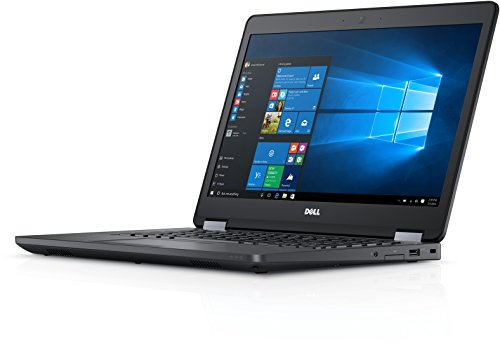 Fast Dell Latitude E5470 HD Business Laptop Notebook PC (Intel Core i5-6300U, 8GB Ram, 256GB Solid State SSD, HDMI, Camera, WiFi) Win 10 Pro SC Card Reader (Renewed)