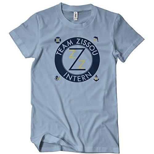 Team Zissou Funny Mens T-Shirt Tee Life Murray Aquatic Halloween Costume
