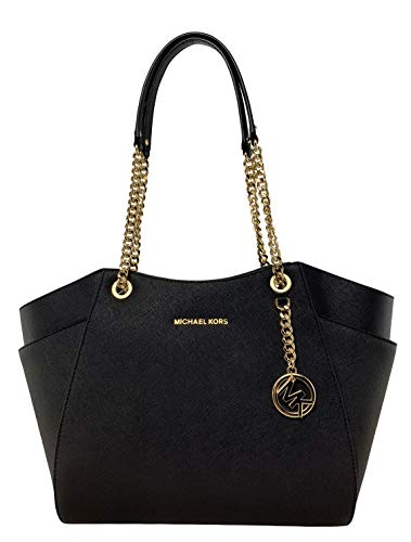 Michael Kors Women's Jet Set Travel Tote No Size (Black)