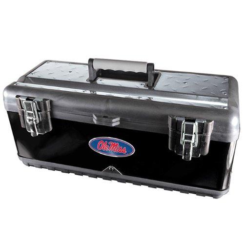 Team ProMark NCAA Mississippi Rebels Heavy Duty Steel Toolbox