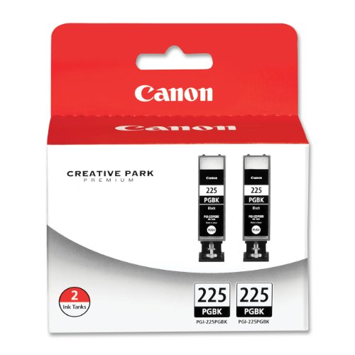 Canon PGI-225 Black Twin Pack Compatible to iP4820, MG5220, MG5120, MG6120, MG8120, MX882, iX6520, iP4920, MG5320, MG6220, MG8220, MX892