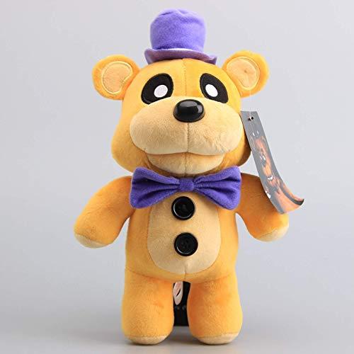 Hot Sale 30cm FNAF Five Nights At Freddy's Plush Toys Nightmare Fredbear Golden Freddy Fazbear Stuffed Toys Doll