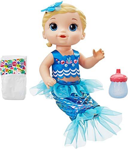 Baby Alive Shimmer 'n Splash Mermaid (BLD Hair)