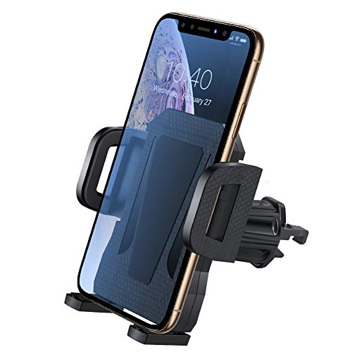 Air Vent Phone Holder for Car,Miracase Universal Vehicle Cell Phone Mount Cradle with Adjustable Clip Compatible with 12/12 Pro/12 Pro Max/11 Pro Max/XR/XS Max/8 Plus,Galaxy S10/S10+ and More