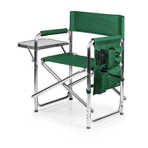 PICNIC TIME ONIVA - a Brand Portable Folding Sports Chair, Hunter Green