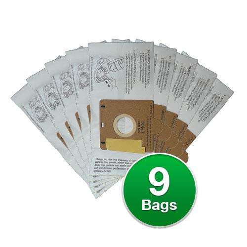 EnviroCare Replacement Vacuum Bags for Eureka Style T 970 980 Canisters (9)