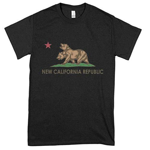 New California Republic Ncr New California Republic Ncr New California Urban Graphic Tees For Women - Cute Teens - Hot Mens Tee Shirt