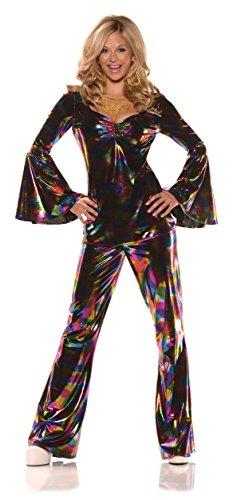 Women's Retro Psychedelic GoGo Costume - Disco Diva