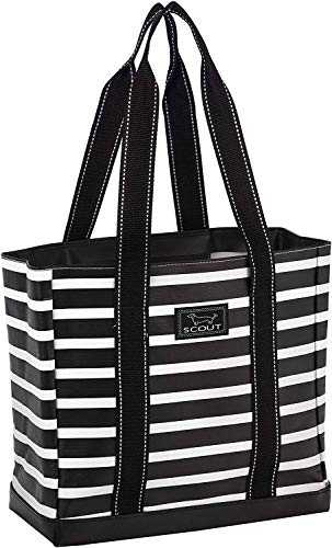 SCOUT Mini Deano Tote Bag, Small Lightweight Utility Tote Bag with Interior Zipper Pocket and Burst-Proof Bottom (Multiple Patterns Available)