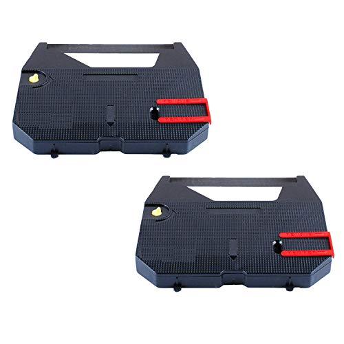 Wadoy GX6750 Typewriter Ribbon for Brother Replace GX7000 GX6000 GX6500 GX8000 Black Correction Cartridge (Pack of 2)