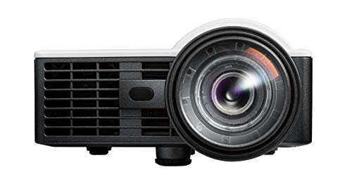 Optoma ML1050ST+ Portable LED WUXGA Support Mini Projector with Short Throw and Auto Focus for Office Presentations and Movies at Home