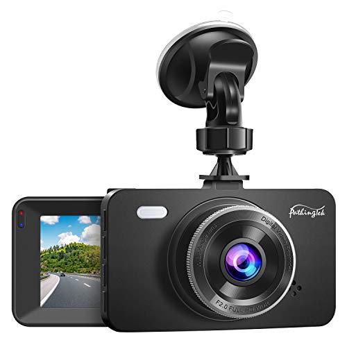 Pathinglek Dash Cam 1080P DVR Dashboard Camera Car Driving Recorder 3 Inch Driving Camera LCD Screen, 170°Wide Angle, WDR, G-Sensor, Loop Recording, Parking Monitor, Motion Detection