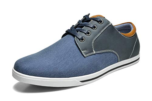 Bruno Marc Men's RIVERA-01 Navy Oxfords Shoes Sneakers Casual Dress Shoes Size 12 M US