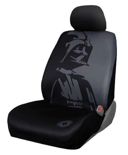 Plasticolor 006922R01 Star Wars Darth Vader Low Back Universal Fit Car Truck SUV Seat Cover