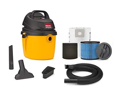 Shop-Vac 2.5 Peak Hp Portable Contractor Wet Dry Vacuum - 5892210, 2.5 gallon