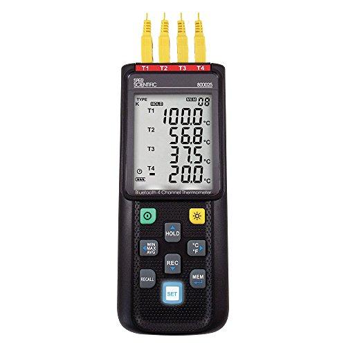 Sper Scientific 800025 Wireless Digital Thermometer with Remote Sensor