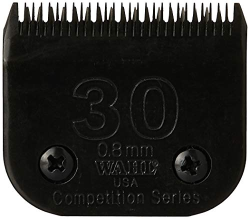 Wahl Professional Animal #30 Fine Ultimate Competition Series Detachable Blade with 1/32-Inch Cut Length (#2355-500), Black