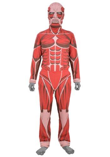 COSPA Attack on Titan Colossal Titan Costume Set Size:Mens L
