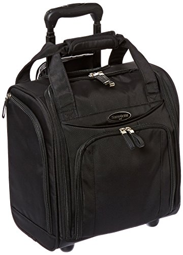 Samsonite Upright Wheeled Carry-On Underseater, Black, Small