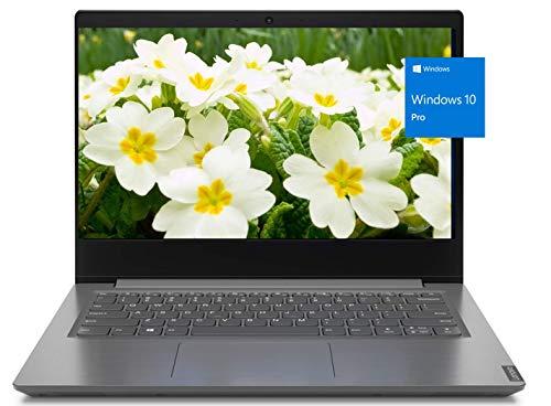 Lenovo V14 Business Laptop, 14' Full HD 1080P Screen, AMD Athlon Gold 3150U Processor, 12GB Memory, 1TB Hard Disk Drive, Webcam, Microphone, WiFi, Bluetooth, HDMI, Windows 10 Pro, KKE Mousepad